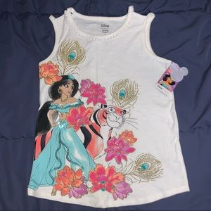 Girls Disney Jasmine shirt